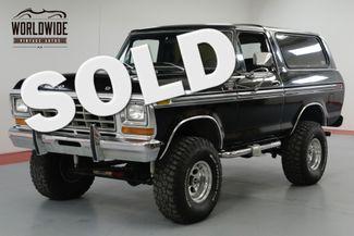 1978 Ford BRONCO BLACK  | Denver, CO | Worldwide Vintage Autos in Denver CO