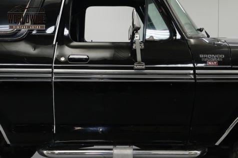 1978 Ford BRONCO BLACK  | Denver, CO | Worldwide Vintage Autos in Denver, CO