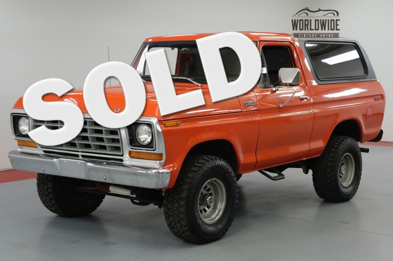 1978 Ford BRONCO 1978 FORD BRONCO CUSTOM RESTORED RARE V8 CONVERTIB | Denver, CO | Worldwide Vintage Autos