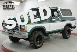 1978 Ford BRONCO RARE RANGER XLT TWO YEAR ONLY REMOVABLE TOP    Denver, CO   Worldwide Vintage Autos in Denver CO