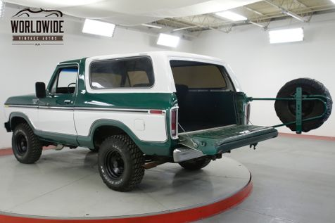 1978 Ford BRONCO RARE RANGER XLT TWO YEAR ONLY REMOVABLE TOP  | Denver, CO | Worldwide Vintage Autos in Denver, CO