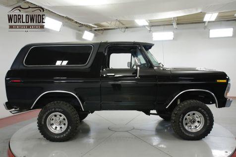 1978 Ford BRONCO RARE 2ND GEN CONVERTIBLE 68K MILES 351 PS PB  | Denver, CO | Worldwide Vintage Autos in Denver, CO