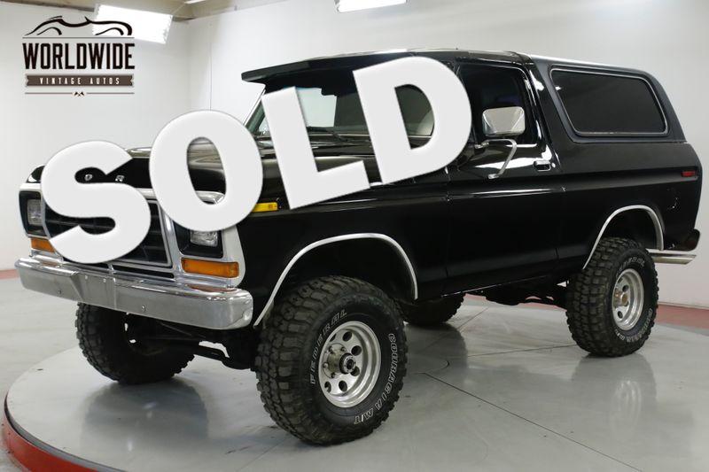 1978 Ford BRONCO RARE 2ND GEN CONVERTIBLE 68K MILES 351 PS PB  | Denver, CO | Worldwide Vintage Autos
