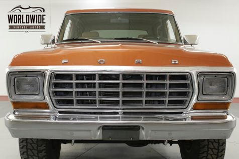 1978 Ford BRONCO  RESTORED CONVERTIBLE 460 V8 AC PS PB AUTO | Denver, CO | Worldwide Vintage Autos in Denver, CO