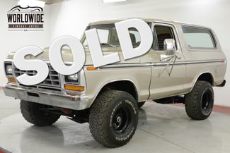 1978 Ford BRONCO RANGER XLT PACKAGE 400 V8 AUTO 4X4 PS PB AC | Denver, CO | Worldwide Vintage Autos in Denver CO