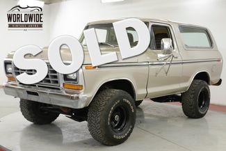 1978 Ford BRONCO RANGER XLT PACKAGE 400 V8 AUTO 4X4 PS PB AC | Denver, CO | Worldwide Vintage Autos in Denver CO