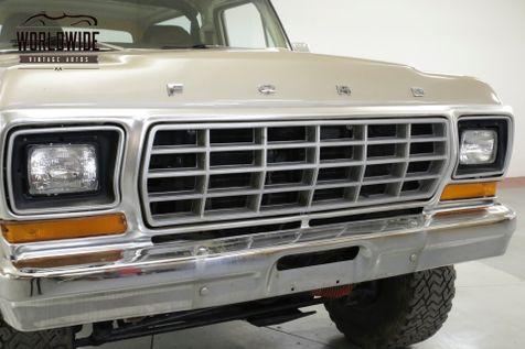 1978 Ford BRONCO RANGER XLT PACKAGE 400 V8 AUTO 4X4 PS PB AC | Denver, CO | Worldwide Vintage Autos in Denver, CO