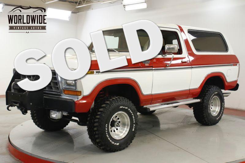 1978 Ford BRONCO RESTORED COLLECTOR GRADE 429 V8 WINCH HIGHBOY | Denver, CO | Worldwide Vintage Autos