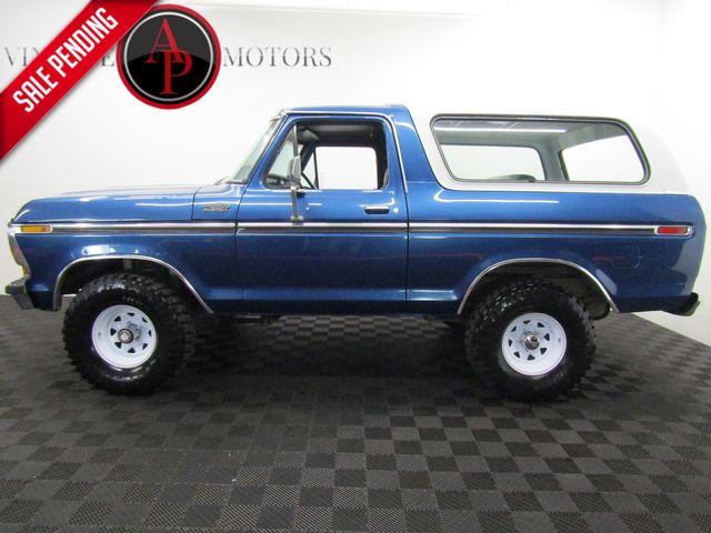 1978 Ford Bronco XLT V8 AUTO