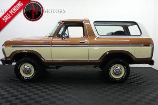 1978 Ford BRONCO CUSTOM 75k 1 OWNER in Statesville, NC 28677