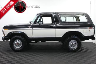 1978 Ford Bronco V8 AUTO XLT RANGER PACKAGE in Statesville, NC 28677