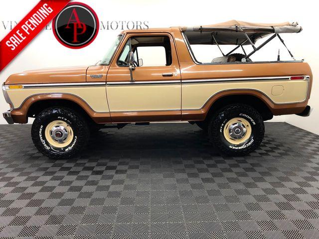 1978 Ford BRONCO V8 4SPD AC 66K MARTI in Statesville, NC 28677