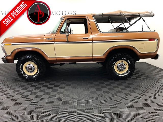 1978 Ford BRONCO V8 4SPD AC 66K MARTI