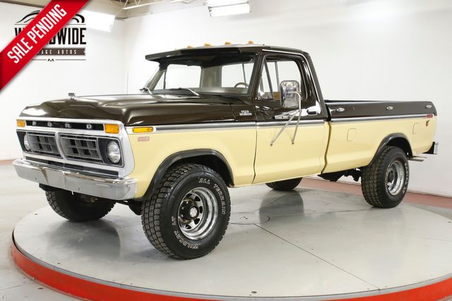 1978 Ford F-250 RANGER 400 V8 4-SPEED RANGER XLT PACKAGE PS PB  | Denver, CO | Worldwide Vintage Autos in Denver CO