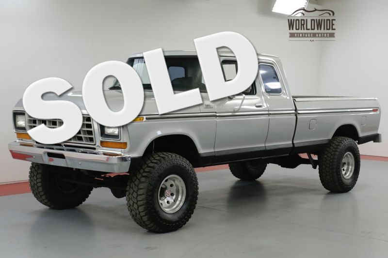 1978 Ford F150 RARE SUPER CAB RANGER 351 V8 C6 AUTO 4X4 PS | Denver, CO | Worldwide Vintage Autos