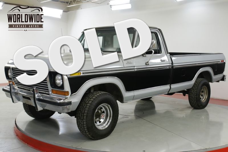 1978 Ford F150 400V8 4-SPEED 4X4 LIFTED STANCE GREAT TRUCK    Denver, CO   Worldwide Vintage Autos