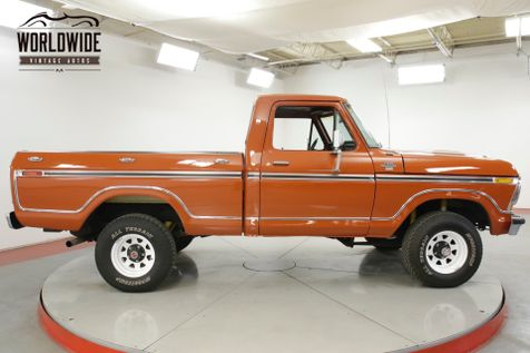 1978 Ford F150 351M SHORT BOX C6 NEW PAINT PS PB MUST SEE    Denver, CO   Worldwide Vintage Autos in Denver, CO