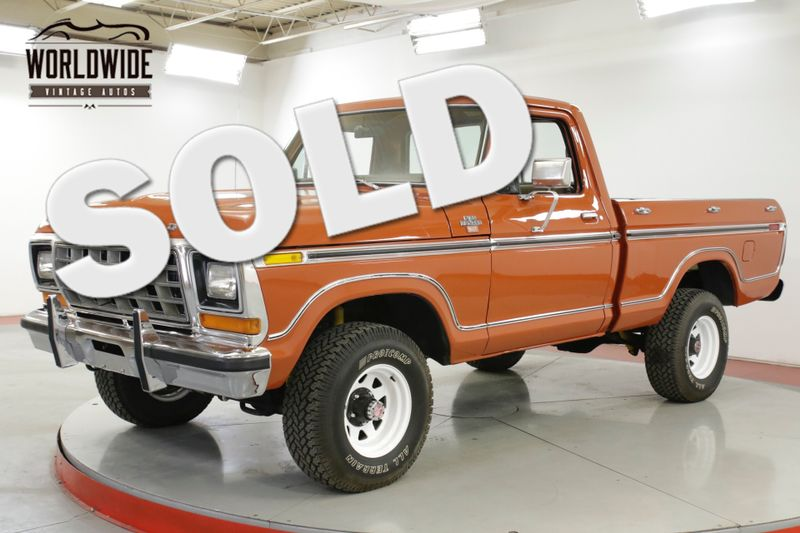 1978 Ford F150 351M SHORT BOX C6 NEW PAINT PS PB MUST SEE    Denver, CO   Worldwide Vintage Autos