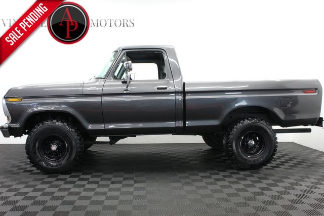 1978 Ford F150 CUSTOM 4X4 V8 4 SPEED