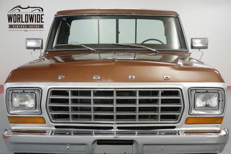 1978 Ford F250 HIGHBOY RANGER. 25K ORIGINAL MILES. 4x4.   Denver, CO   Worldwide Vintage Autos in Denver, CO