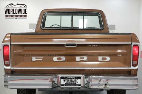 1978 Ford F250 HIGHBOY RANGER. 25K ORIGINAL MILES. 4x4. | Denver, CO | Worldwide Vintage Autos in Denver, CO