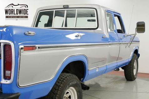 1978 Ford F250  RARE LARIAT SUPER CAB 4X4 400 NEW PAINT PS  | Denver, CO | Worldwide Vintage Autos in Denver, CO