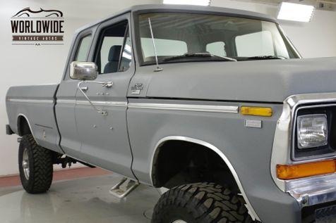 1978 Ford F250 460 V8 AUTO DANA 60'S PS PB 4X4 WINCH | Denver, CO | Worldwide Vintage Autos in Denver, CO