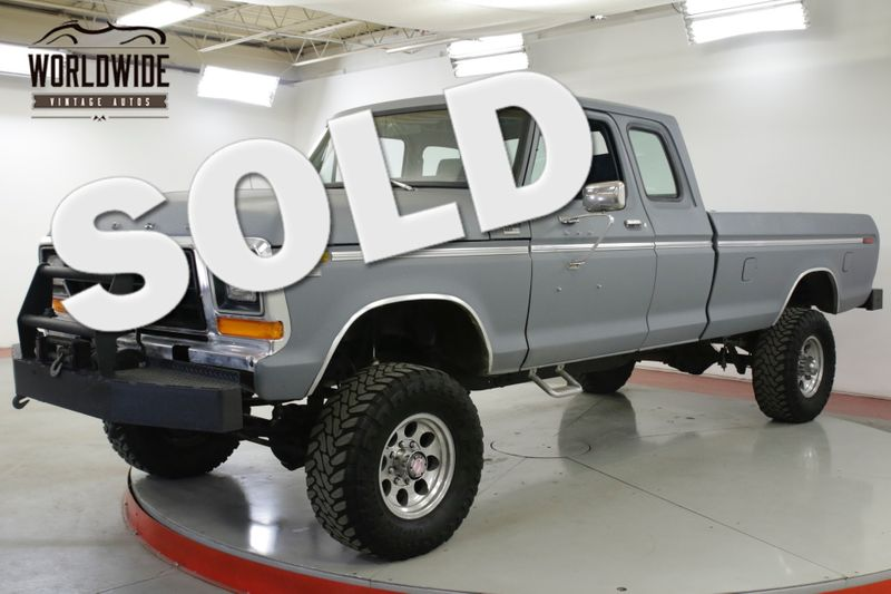 1978 Ford F250 460 V8 AUTO DANA 60'S PS PB 4X4 WINCH | Denver, CO | Worldwide Vintage Autos