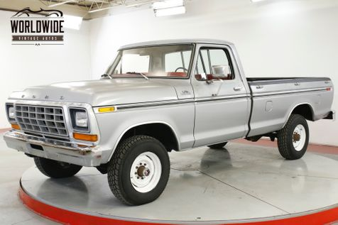 1978 Ford F250 RANGER PACKAGE 400V8 4-SPD TWO OWNER 59K MI | Denver, CO | Worldwide Vintage Autos in Denver, CO