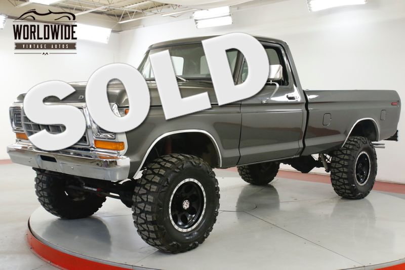 1978 Ford F250 FRAME OFF RESTORATION 460 LIFT PB MUST SEE | Denver, CO | Worldwide Vintage Autos