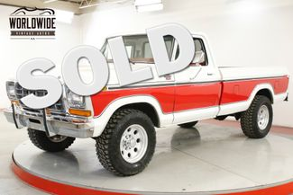 1978 Ford F250 RANGER LARIAT CHROME PS PB DISC | Denver, CO | Worldwide Vintage Autos in Denver CO