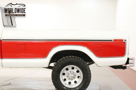 1978 Ford F250 RANGER LARIAT CHROME PS PB DISC | Denver, CO | Worldwide Vintage Autos in Denver, CO