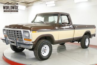 1978 Ford RANGER F150 XLT LONG BED CHROME PS PB AC 4X4 | Denver, CO | Worldwide Vintage Autos in Denver CO