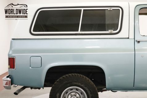1978 GMC JIMMY 4X4 FUEL INJECTED V8 PS PB AC | Denver, CO | Worldwide Vintage Autos in Denver, CO