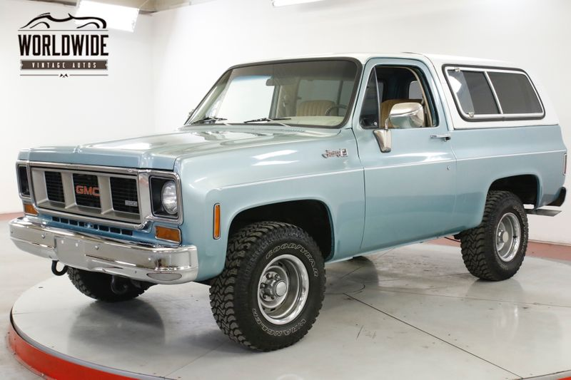 1978 GMC JIMMY 4X4 FUEL INJECTED V8 PS PB AC (VIP) | Denver, CO | Worldwide Vintage Autos