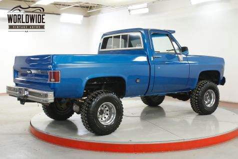 1978 GMC SIERRA 4X4 350 V8 AUTOMATIC 4X4 SHORTBOX LIFTED PS PB  | Denver, CO | Worldwide Vintage Autos in Denver, CO