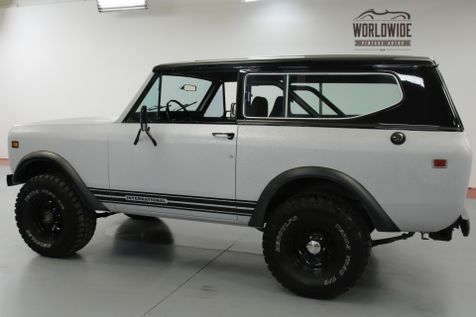1978 International SCOUT CONVERTIBLE 4x4 CUSTOM 345 V8 AUTO! PS! PB! | Denver, CO | Worldwide Vintage Autos in Denver, CO