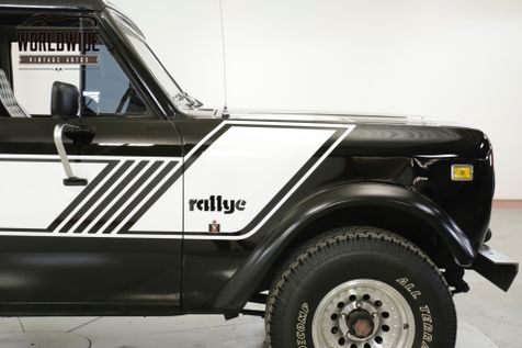 1978 International SCOUT  RALLYE PS PB V8 4 SPD CONVERTIBLE RARE | Denver, CO | Worldwide Vintage Autos in Denver, CO