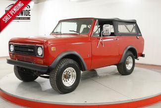 1978 International SCOUT  DUAL EXHAUST 4X4 345 V8 PS PB | Denver, CO | Worldwide Vintage Autos in Denver CO