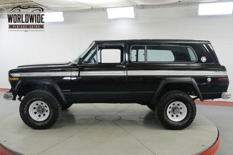 1978 Jeep CHEROKEE CHIEF S 401 V8 40K ORIGINAL MILES | Denver, CO | Worldwide Vintage Autos in Denver, CO