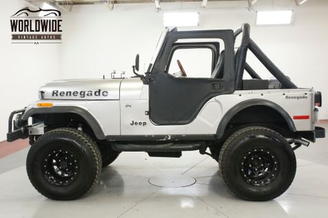 1978 Jeep CJ5 RENEGADE 4X4 PS V8 LIFTED BEAUTY | Denver, CO | Worldwide Vintage Autos in Denver, CO