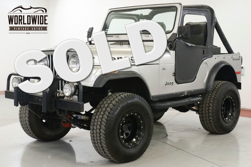 1978 Jeep CJ5 RENEGADE 4X4 PS V8 LIFTED BEAUTY | Denver, CO | Worldwide Vintage Autos