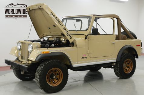 1978 Jeep CJ 7  GOLDEN EAGLE LEVI EDITION TIME CAPSULE  | Denver, CO | Worldwide Vintage Autos in Denver, CO