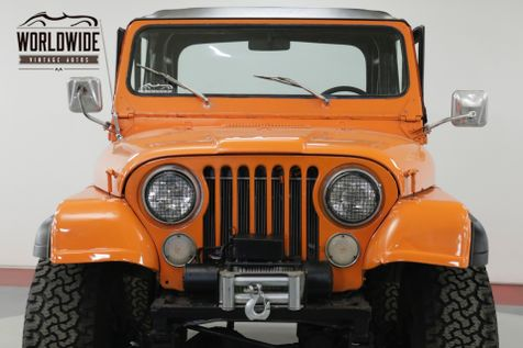 1978 Jeep CJ5  304 V8 4X4 NEW TOP READY FOR THE SUMMER   Denver, CO   Worldwide Vintage Autos in Denver, CO