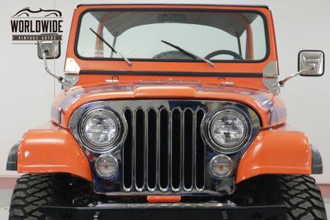 1978 Jeep CJ5 LEVIS RENEGADE 4X4 PS 304CI V8 LIFTED CHROME   Denver, CO   Worldwide Vintage Autos in Denver, CO