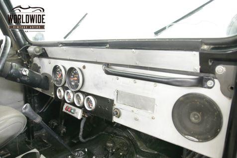 1978 Jeep CJ5 V8 MANUAL 4X4 33 INCH TIRES PS | Denver, CO | Worldwide Vintage Autos in Denver, CO