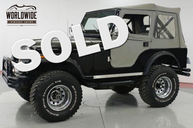 1978 Jeep CJ5 V8 MANUAL 4X4 33 INCH TIRES PS | Denver, CO | Worldwide Vintage Autos