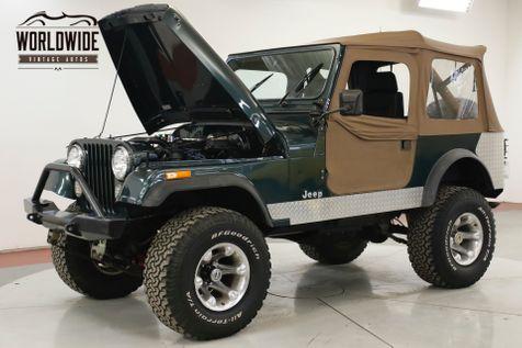 1978 Jeep CJ7  360 V8 PS PB DISC! 4x4 CONVERTIBLE    Denver, CO   Worldwide Vintage Autos in Denver, CO