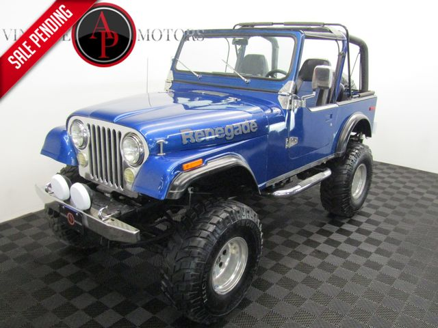 1978 Jeep CJ7 V8 AUTO PS PB