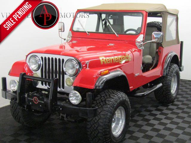 1978 Jeep CJ7 FUEL INJECTED 5 SPD AC